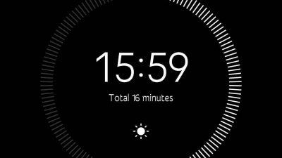 15 mins of meditation